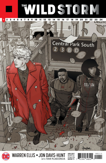 The Wildstorm (2017) no. 1 - Used