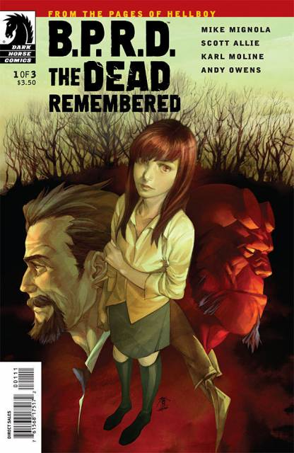 BPRD the Dead Remembered (2011) Complete Bundle - Used