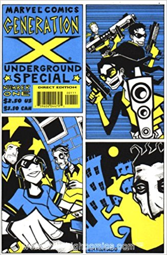 Generation X (1994) Underground Special - Used