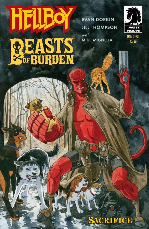 Hellboy One Shot: Beasts of Burden - Used