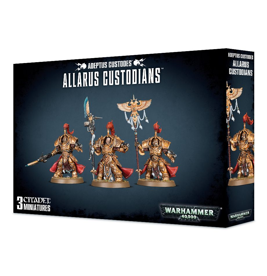 Warhammer 40k: Adeptus Custodes: Allarus Custodians