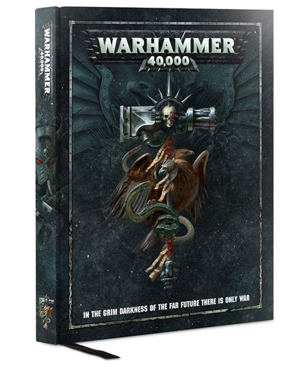 Warhammer 40k: Core Rules Book 8th Ed