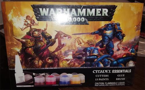 Warhammer 40K: Essentials Paint Set 60-12-13