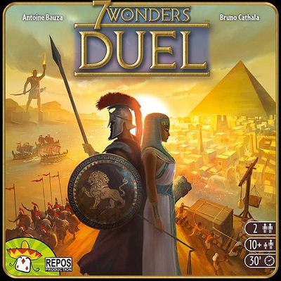 7 Wonders: Duel 2 Player Game