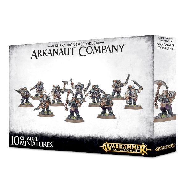 Warhammer: Age of Sigmar: Kharadron Overlords: Arkanaut Company 84-35