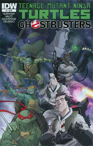 Teenage Mutant Ninja Turtles Ghostbusters Complete Bundle (2014) - Used