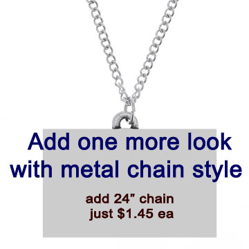 24 Inch Metal Chain