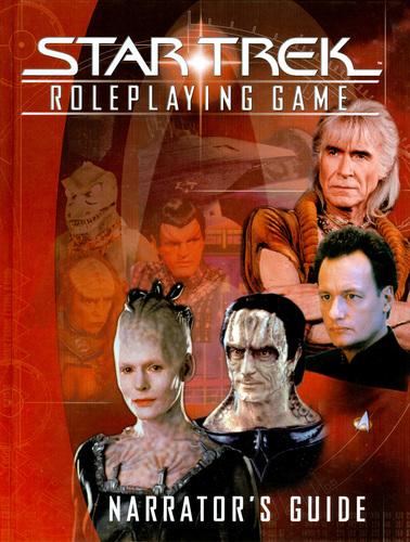 Star Trek Roleplaying Game: Narrators Guide - Used