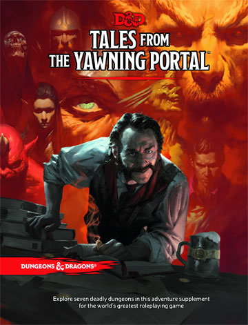 Dungeons and Dragons 5th Ed: Tales From The Yawning Portal HC