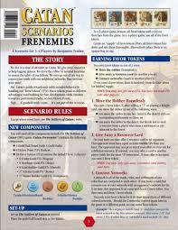 Catan Scenario: Frenemies