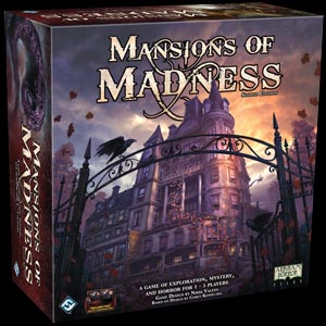 Mansions of Madness 2nd Ed Board Game - USED - By Seller No: 4178 Michael Broyles