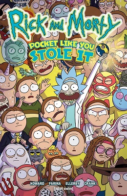 Rick and Morty: Pocket Like You Stole It TP