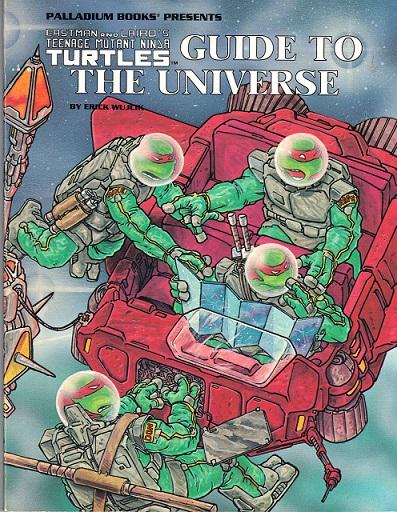 Teenage Mutant Ninja Turtles: Guide to the Universe - Used