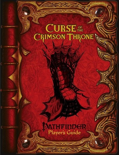 Pathfinder Players Guide: Curse of the Crimson Throne - Used