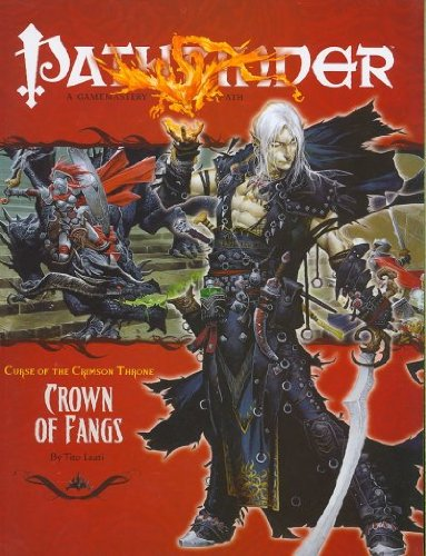 Pathfinder: Adventure Path: Curse of the Crimson Throne: Crown of Fangs - Used