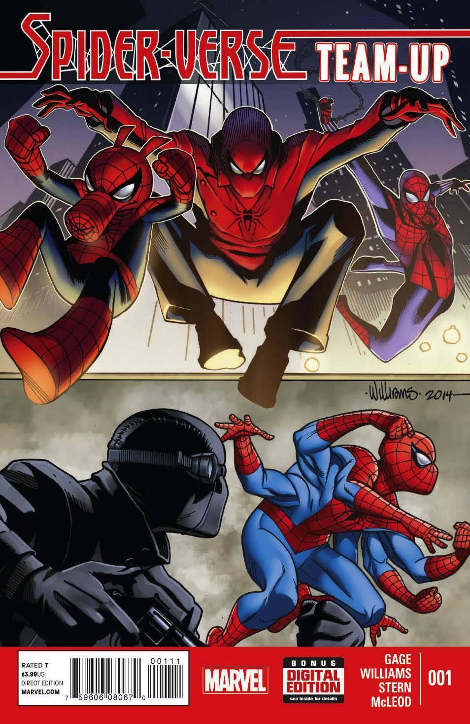 Spider-Verse Team Up (2014) Complete Bundle - Used