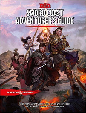 Dungeons and Dragons 5th Ed: Sword Coast Adventures Guide