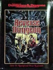 Dungeons and Dragons 2nd ed: Reverse Dungeon - USED