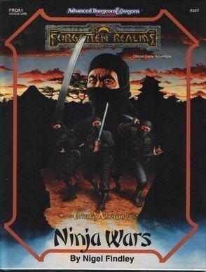 Dungeons and Dragons: 2nd ed: Forgotten Realms: Kara-Tur: FROA1 Ninja Wars - Used
