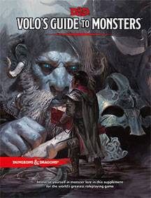 Dungeons and Dragons 5th Ed: Volos Guide to Monsters HC