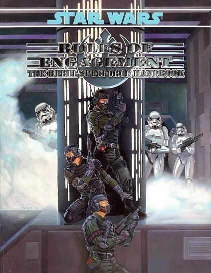 Star Wars: Rules of Engagement: The Rebel Specforce Handbook - Used