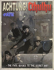 Achtung: Cthulhu: The Fate Guides to the Secret War Role Playing - Used