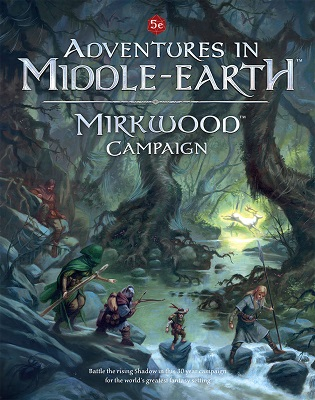 Adventures in Middle Earth: Mirkwood Campaign - Used