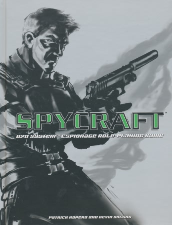 D20 Spycraft: Espionage Role-Playing Game - USED