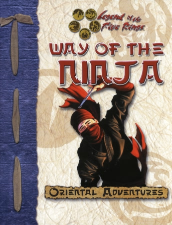 Legend of The Five Rings: Oriental Adventures: Way of The Ninja - Used