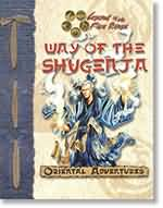 Legend of The Five Rings: Oriental Adventures: Way of The Shugenja