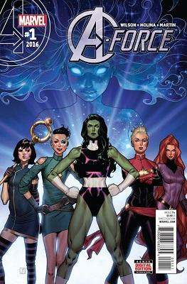 A-Force (2016) Complete Bundle - Used