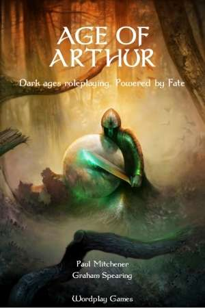 Age of Arthur RPG Hardcover - Used