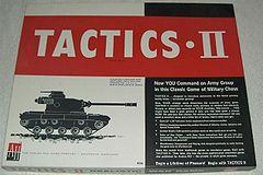 Tactics II: Realistic War Game - Used