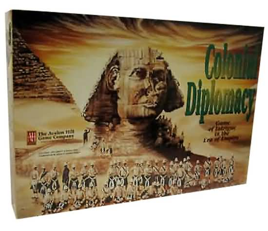 Colonial Diplomacy Board Game - Used