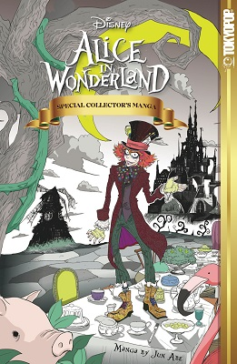 Alice in Wonderland Manga HC