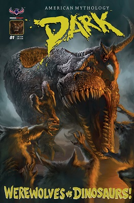 American Mythology Dark: Werewolves vs Dinosaurs (2016) Complete Bundle - Used