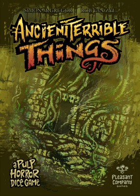 Ancient Terrible Things Board Game (2nd Edition)