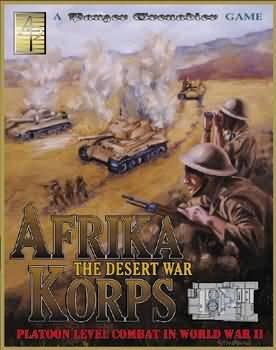 Panzer Grenadier: Afrika Korps Box Set - Used