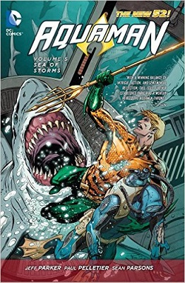 Aquaman: Volume 5: Sea of Storms TP