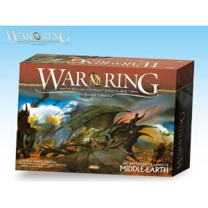 Lord of the Rings: War of the Ring 2nd Ed Board Game