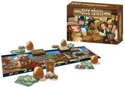 Dice Town Board Game