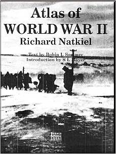 Atlas of World War II by Richard Natkiel - Used