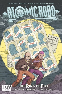 Atomic Robo: The Ring of Fire (2015) Complete Bundle - Used
