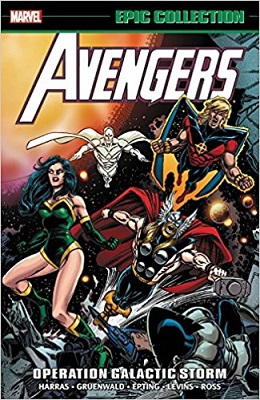 Avengers Epic Collection: Operation Galactic Storm TP