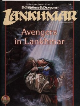 Dungeons and Dragons 2nd ed: Lankhmar: Avengers in Lankhmar - Used