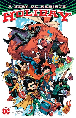 A Very DC Rebirth Holiday TP