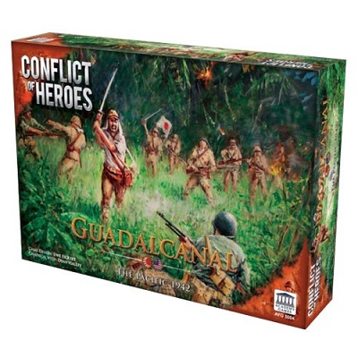 Conflict of Heroes: Guadalcanal: The Pacific 1942