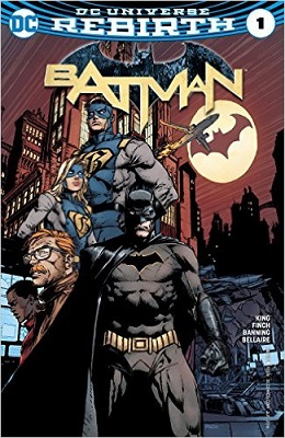 Batman no. 1 (2016 Series)