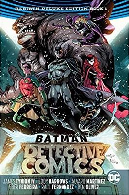 Detective Comics: Rebirth: Volume 1 HC (Deluxe Edition)
