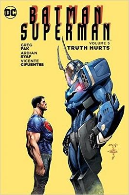 Batman Superman: Volume 5: Truth Hurts HC - Used